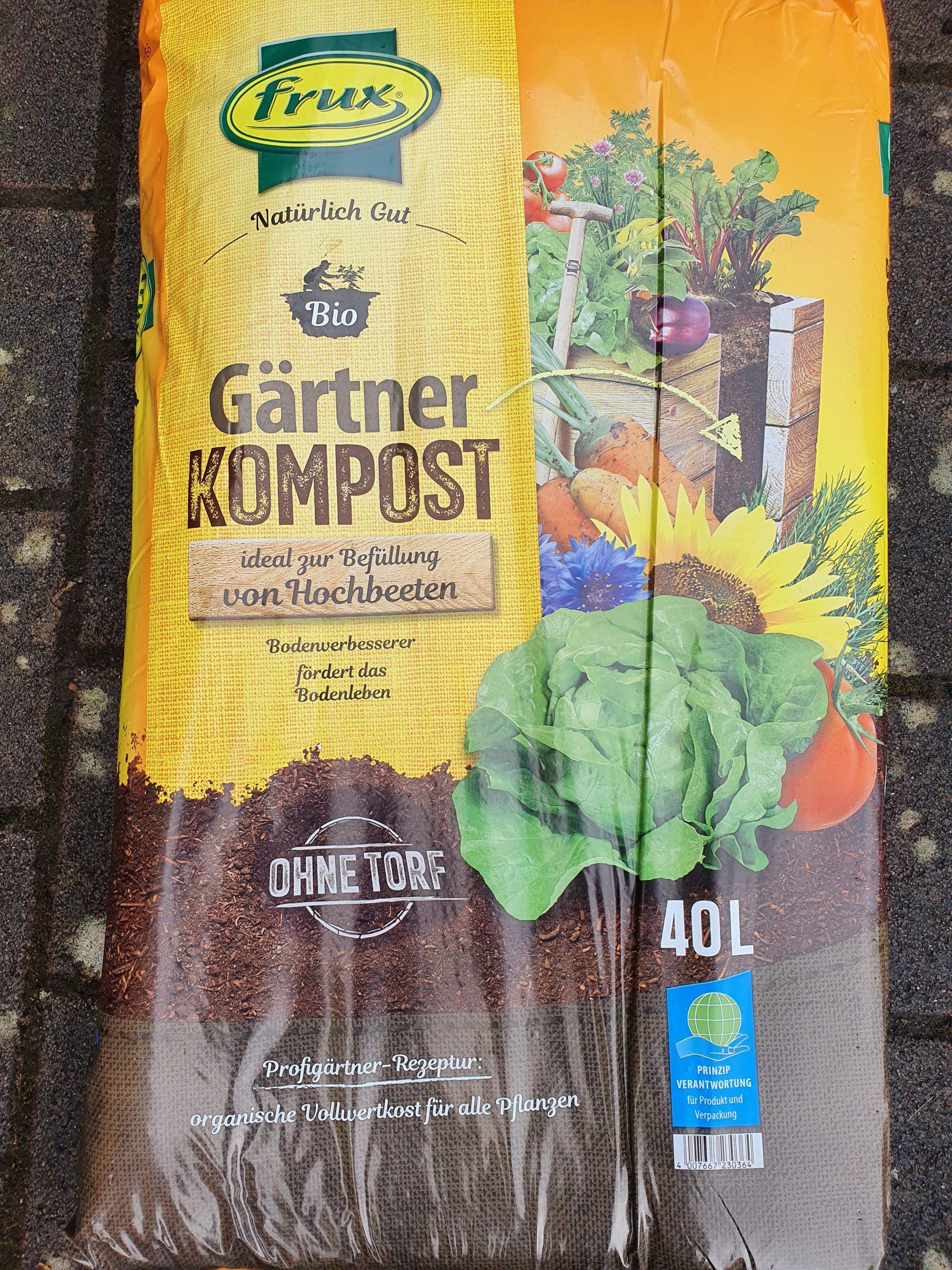 Frux Gärtner Kompost