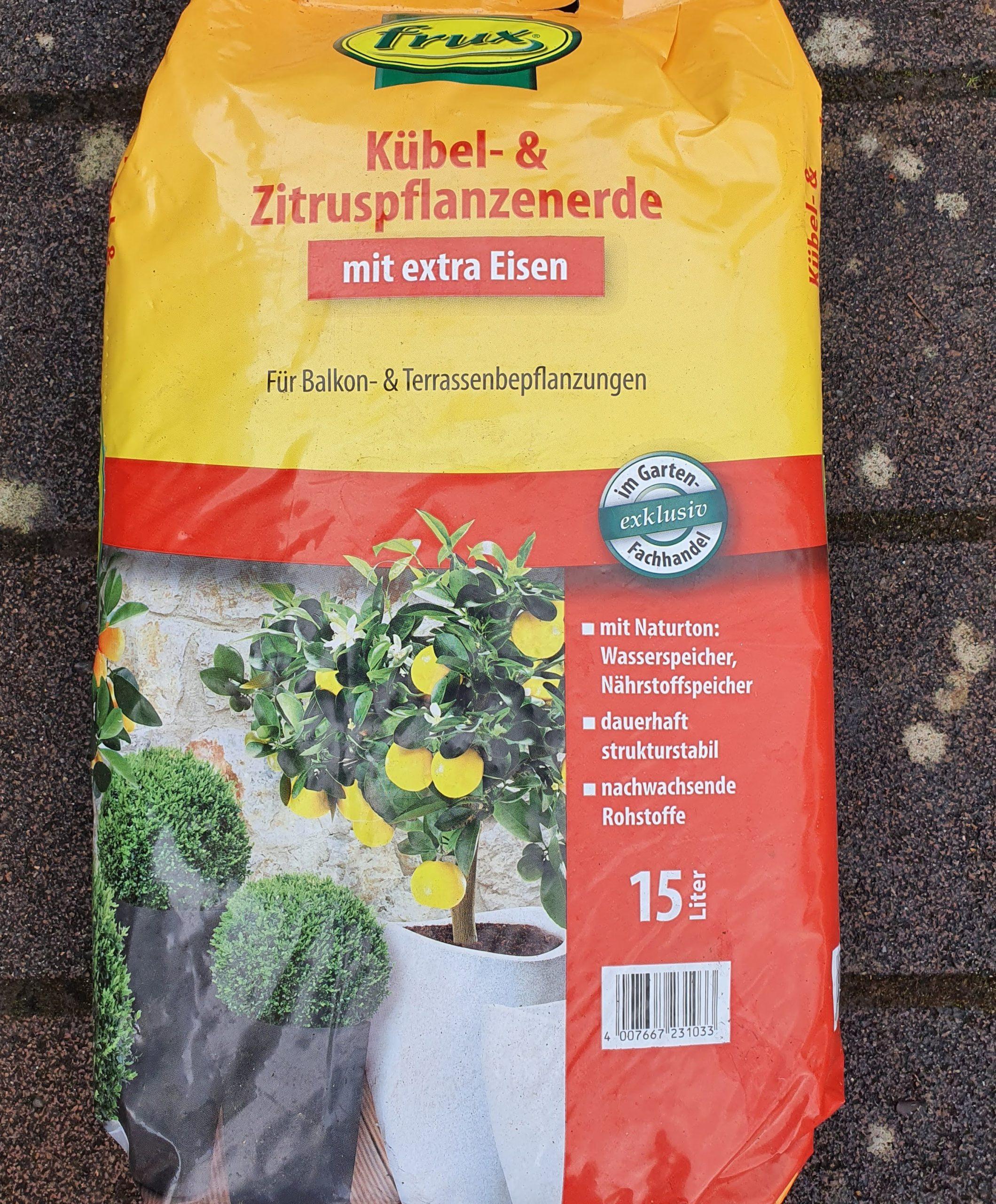 Kübel- und Zitruspflanzenerde