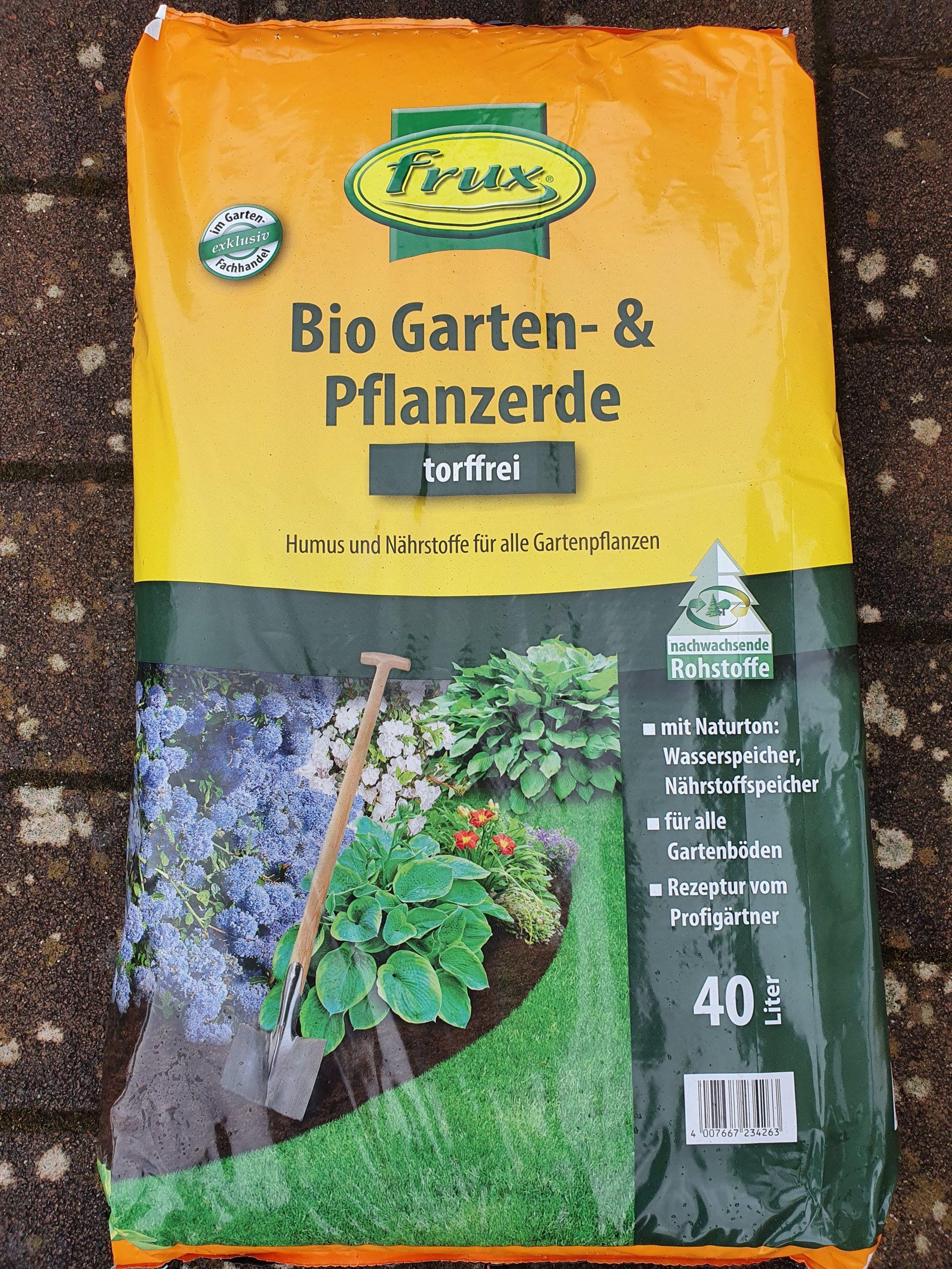 Bio Garten- und Pflanzerde torffrei