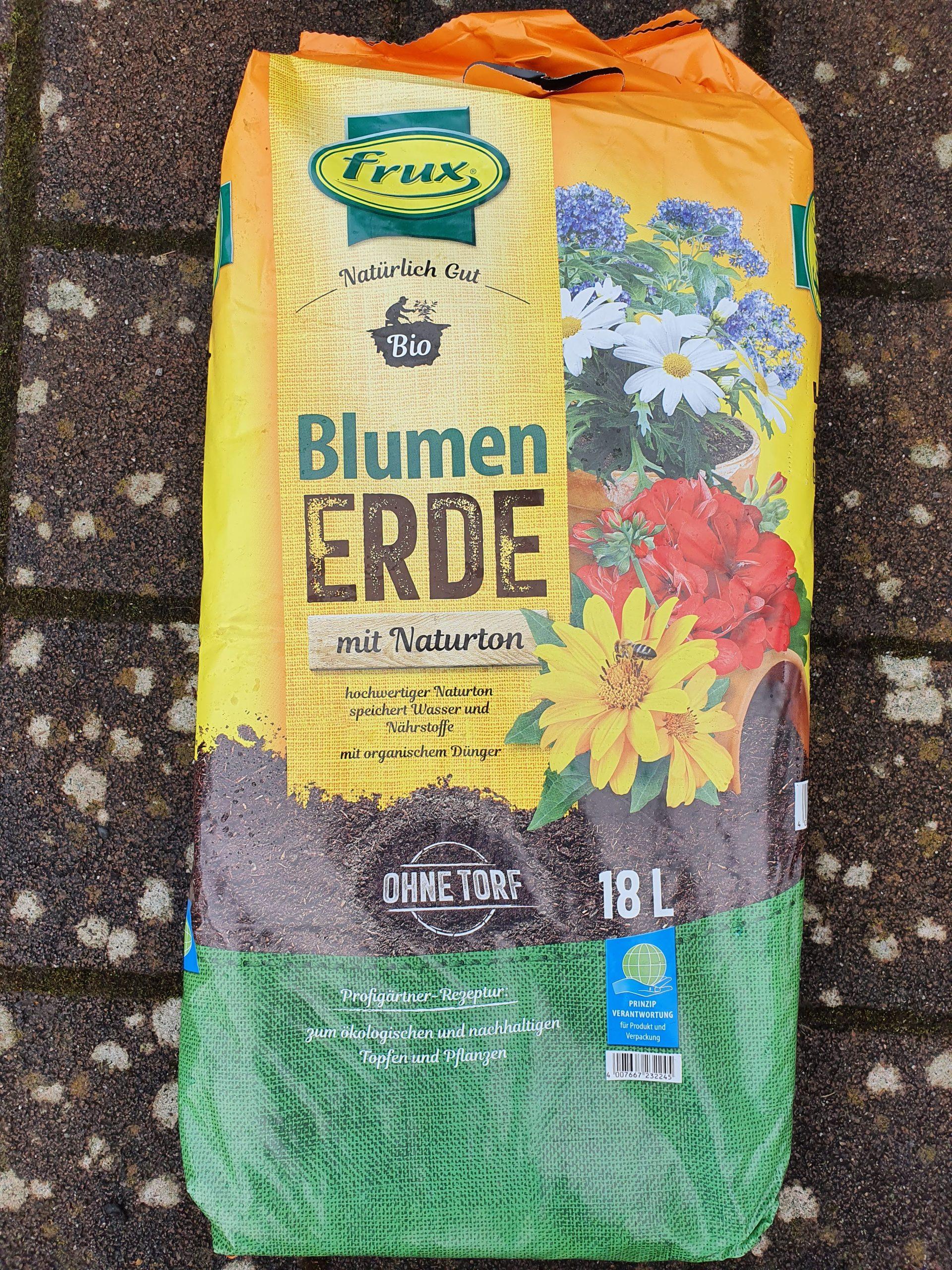 Bio-Blumenerde torffrei